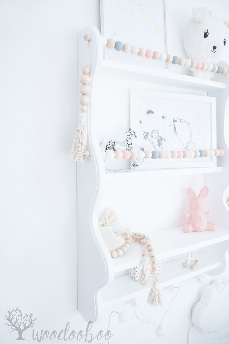 Shabby Chic Shelf Nursery Shelf White Floating Shelf Kids Wall