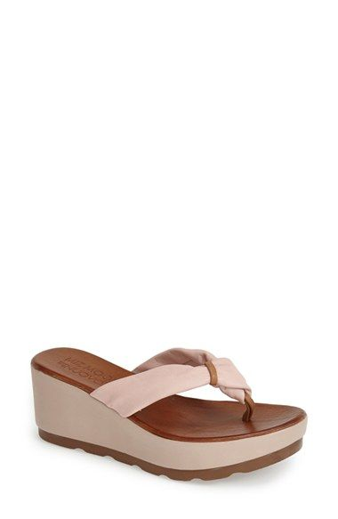 50c98cc089b Miz Mooz  Burma  Leather Platform Thong Sandal (Women) available at   Nordstrom