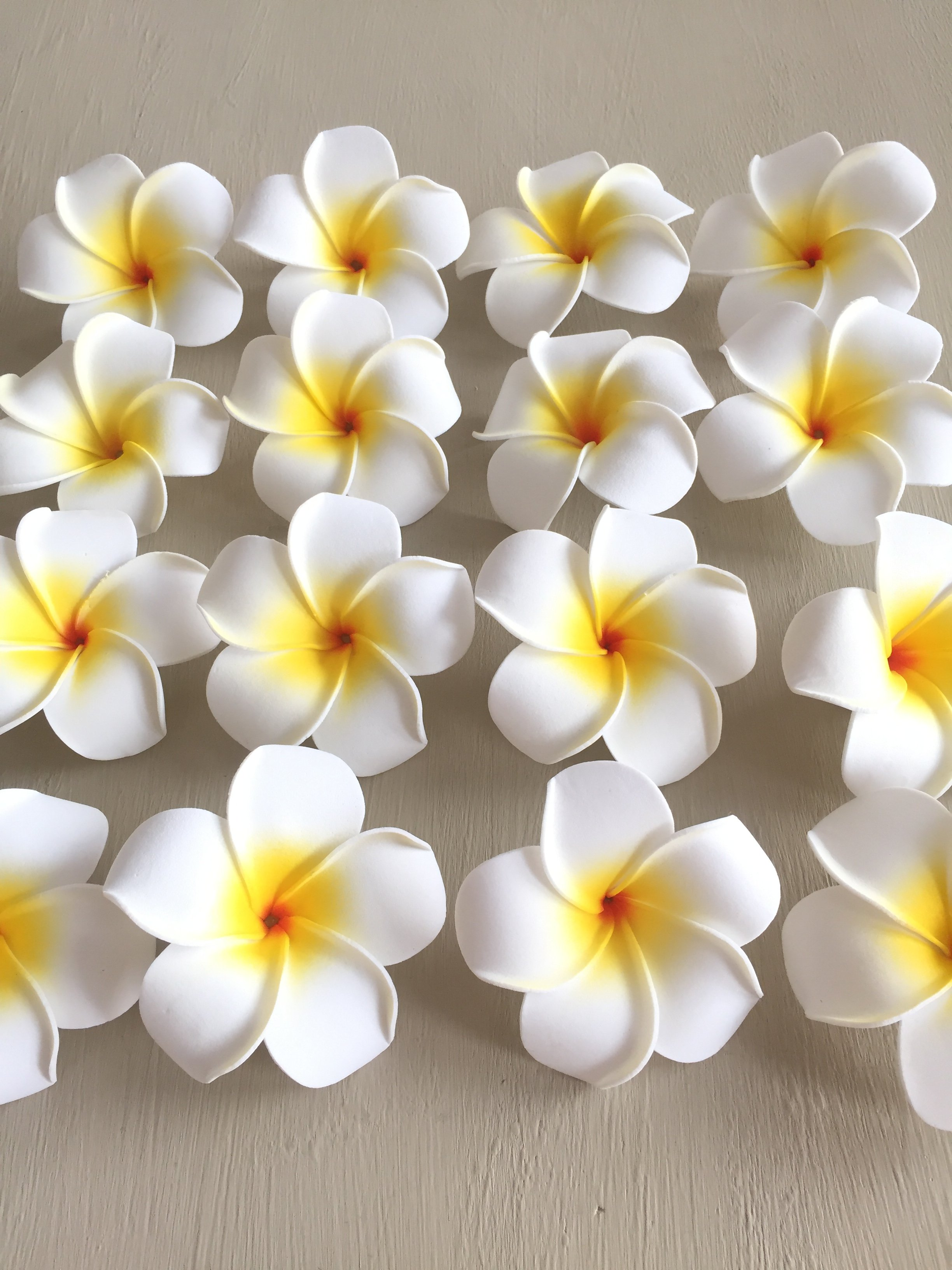 Frangipani Plumeria Flower Hair Clip Flores De Papel Modelos De Flor De Papel Origami Tutorial