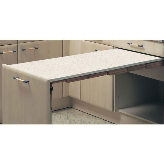 Hafele U0027u0027Prestou0027u0027 Pull Out Kitchen Table.. Could Use For Extra Prep Space  And Store Seldom Used Items In Space