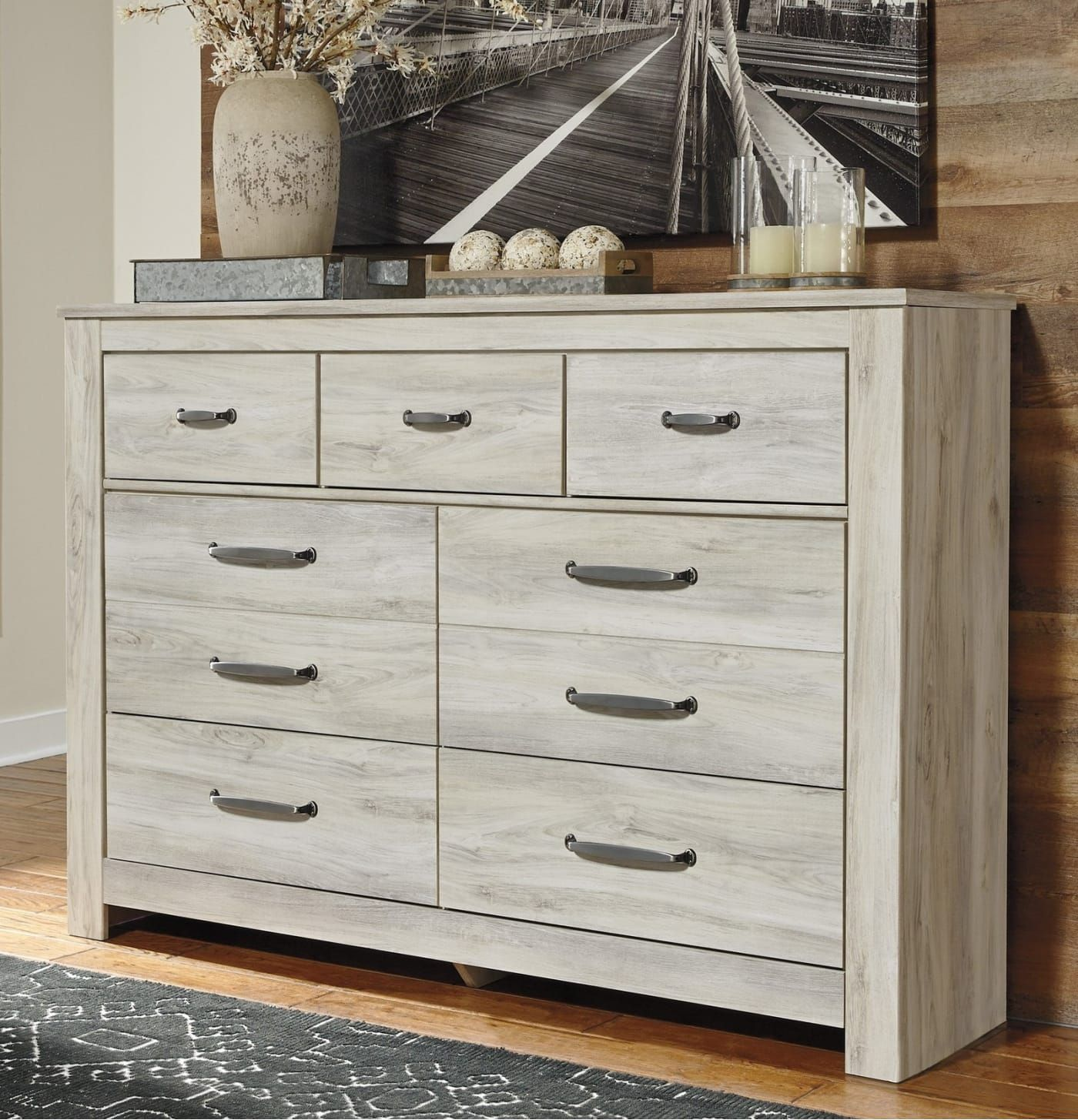 Best Signature Design By Ashley Bellaby Whitewash Dresser 400 x 300