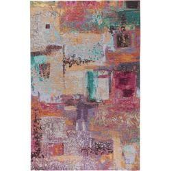 Photo of benuta Flachgewebeteppich Stay Multicolor 115×180 cm – Moderner Bunter Teppich für Wohnzimmer benuta