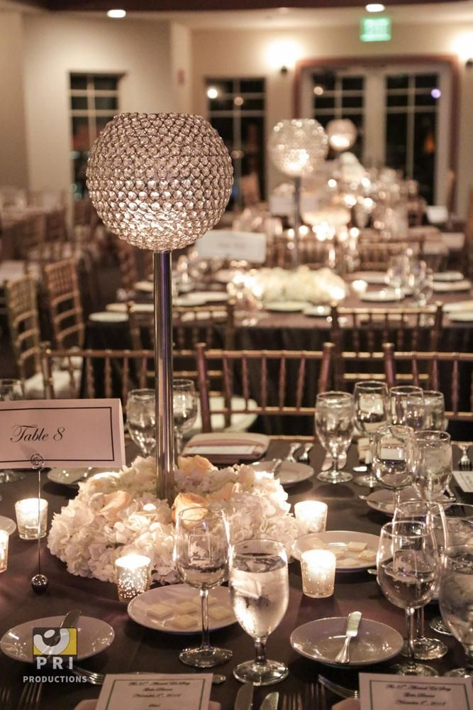 Admirable Crystal Globe Centerpiece Floral Design Centerpieces Download Free Architecture Designs Terstmadebymaigaardcom