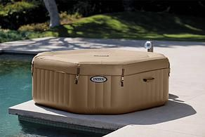 Whirlpool outdoor aufblasbar  MSpa LUXURY EXOTIC XL B-151 for 6 people | Inflatable Hot Tubs ...