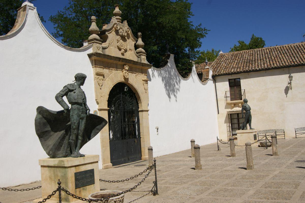Plaza De Toros De Ronda Málaga Plaza De Toros Málaga Andalucía