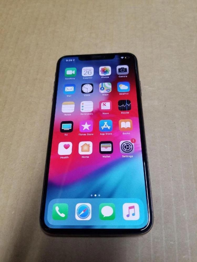 Best Apple Iphone X 256gb Black Space Gray 1year Apple