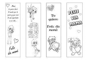 Tarjetas Para El Dia De La Madre Para Colorear E Imprimir
