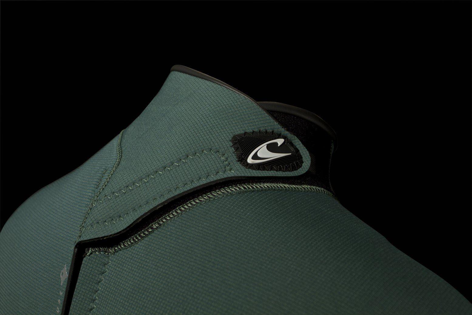 ONeill Mens Epic 3/2mm Back Zip Full Wetsuit Black/Black