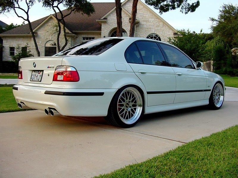 Bmw 5 Series E39 Love A Clean White Car Bmw Bmw E39 Bmw