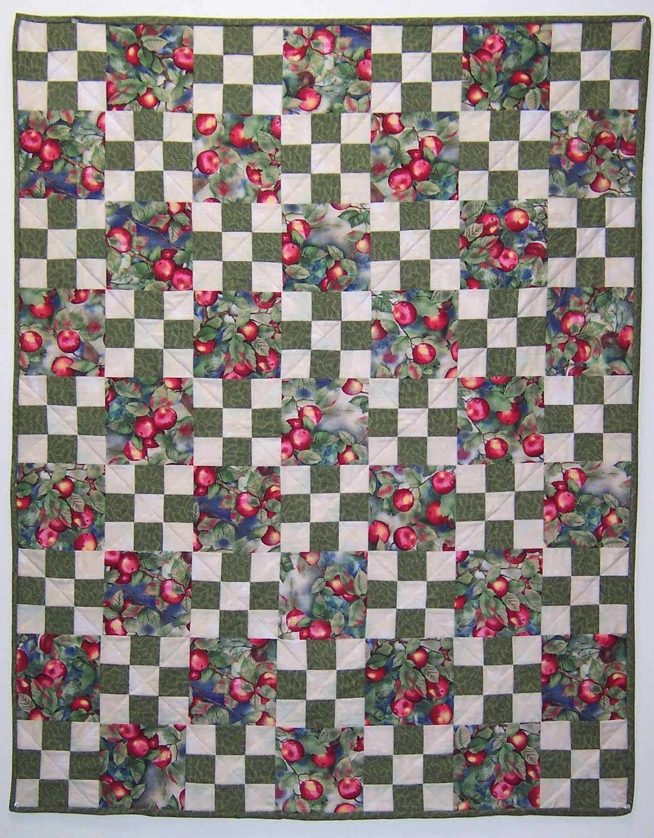 Free Quilt Patterns For Beginners Our Easy 9 Patch Quilt Pattern