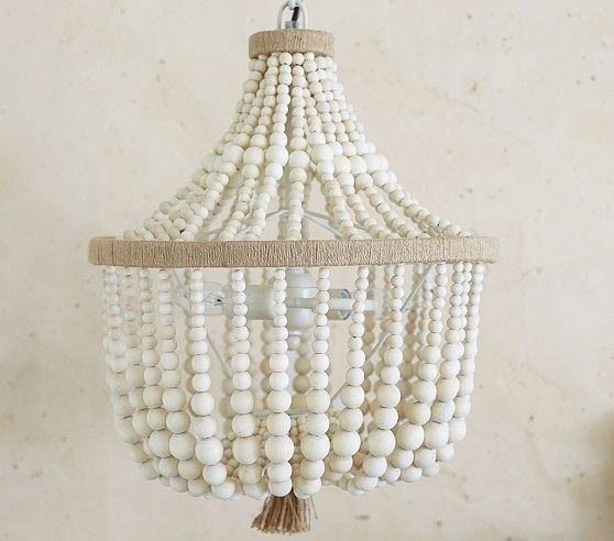 Dahlia Chandelier | Pottery Barn Kids 199.00 this would be adorable in a little girls room!!!