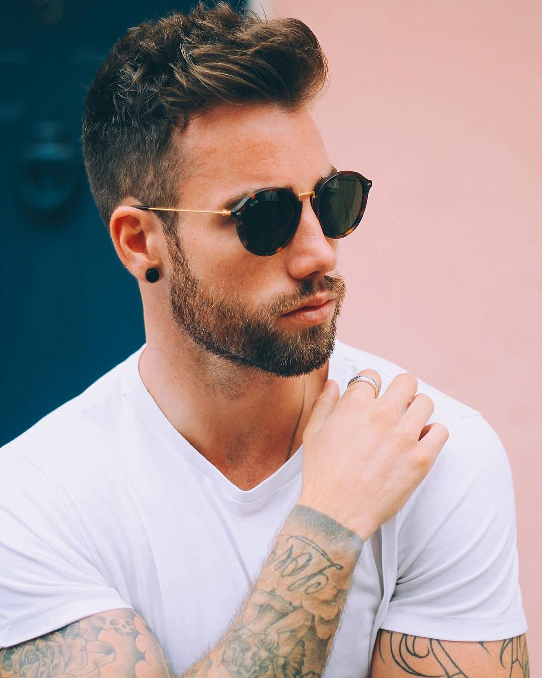 Mens Hairstyles With Glasses 12 Stylish Guys Haircuts For Fall 2016 Guy Haircuts Fall 2016