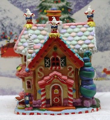 Lemax Sugar N Spice Village 034 Sweet Tooth Cottage 034 Mint Cond Orig Box Sugar And Spice Gingerbread House Sweet