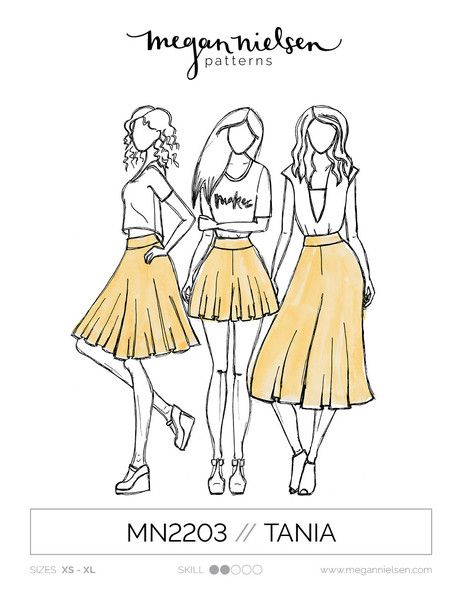 Tania Culottes sewing pattern | My Patterns | Pinterest | Nähen ...