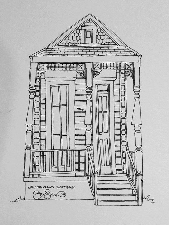 Mansion Drawing: Pin On Art
