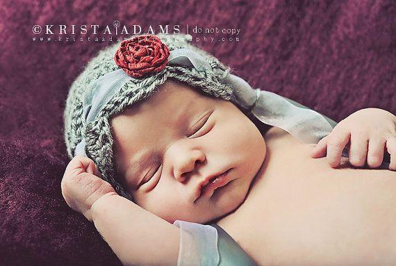 Newborn Photography Prop  Crochet Scalloped by BeansInaBucket, $28.50