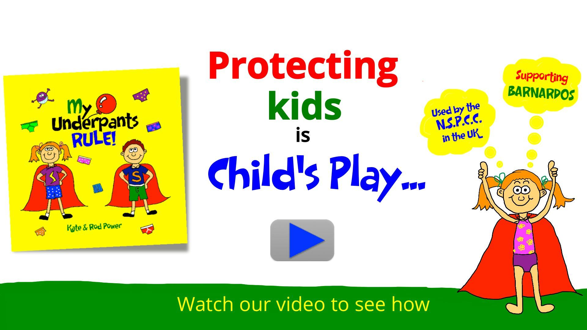 Underpants Rule Child Protection My Underpants Rule Child Protection Child Care Resources Kids Safe