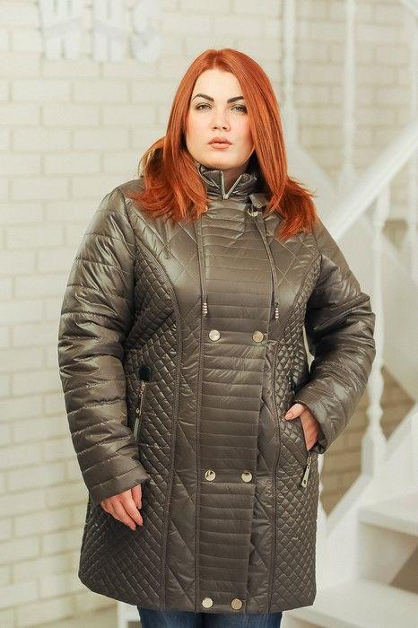 c88e444a97d4 Куртка «Мика», темно-бежевая - Женская одежда оптом   Модели ...