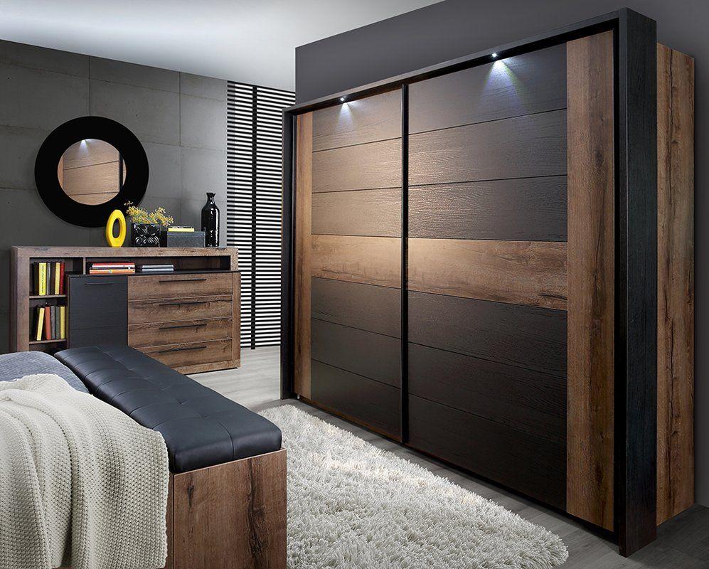 Believue Sliding 2 Door Wardrobe Sliding Door Wardrobe Designs Bedroom Closet Design Bedroom Furniture Design
