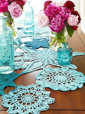 good idea for re-using my mother's doilies