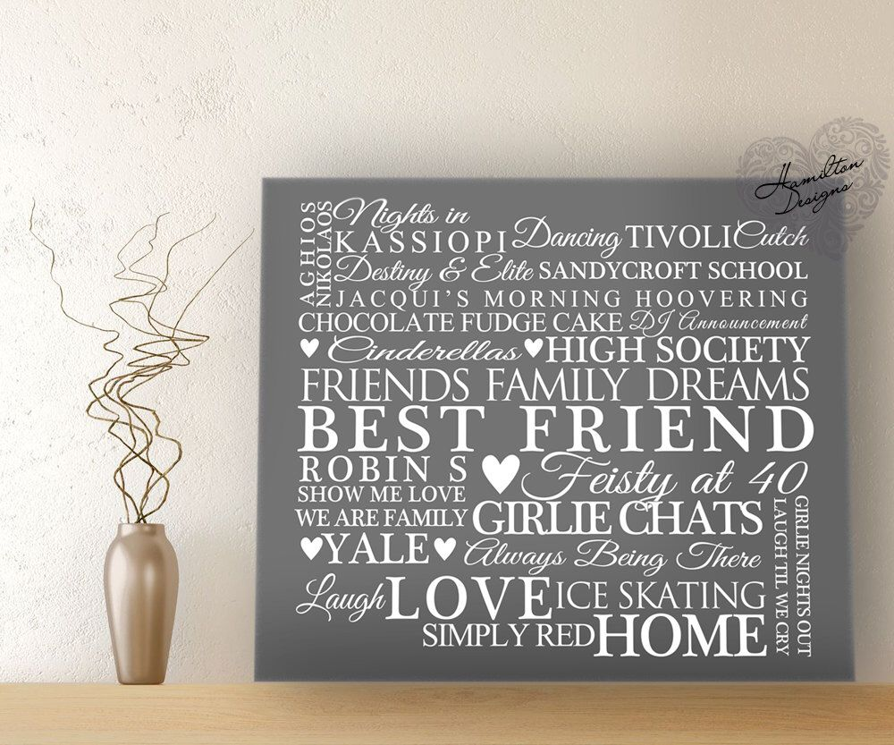 Personalised Word Art Canvas Print Ready to Hang Wall Art Typography Gift by HamiltonDesignsuk on Etsy https://www.etsy.com/listing/213010226/personalised-word-art-canvas-print-ready