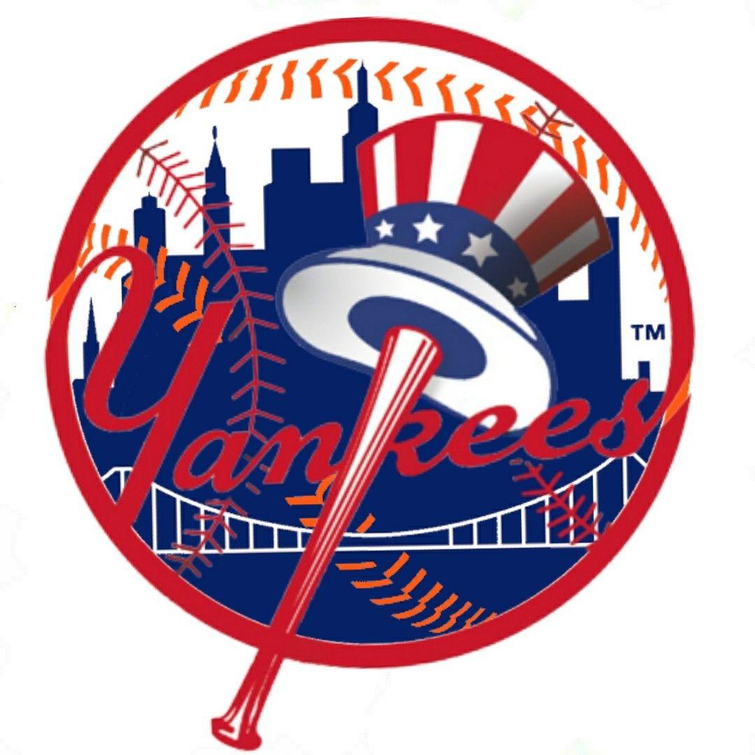 Pin By Keith Blackman On New York Sports Teams Mlb Logos Yankees Logo Yankees Baseball