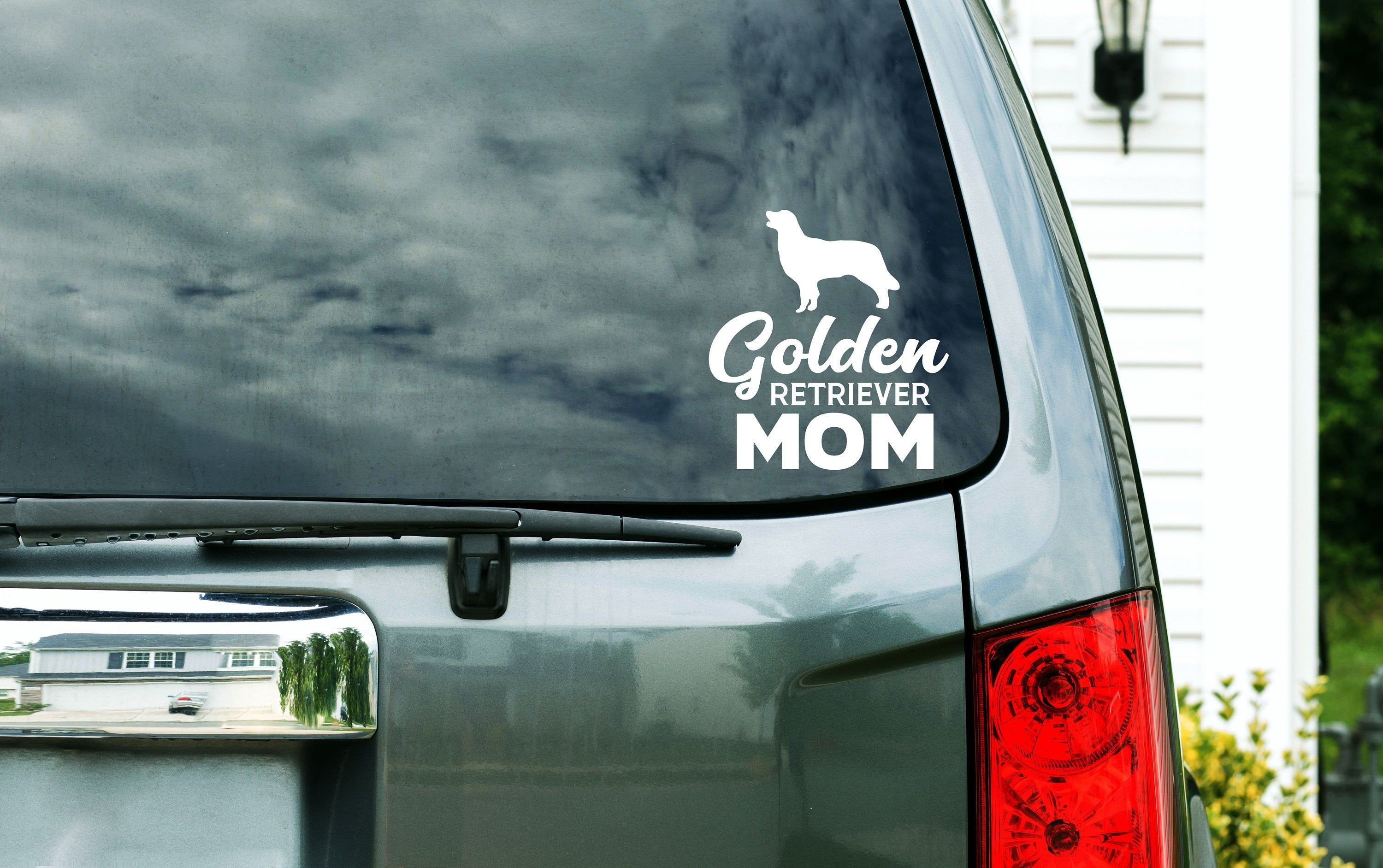 Golden Retriever Mom Dog Breed Silhouette Custom Vinyl Decal Sticker Choose Your Color And Size Car Window Decal Pet Decal In 2020 Custom Vinyl Decal Custom Vinyl Vinyl Decal Stickers [ 1883 x 3000 Pixel ]