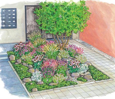 An Den Vorgarten Knupfen Sich Viele Wunsche Er Soll Einladend Wirken Rund Ums Jahr Schon Aussehen Pflegeleich Vorgarten Bepflanzen Vorgarten Vorgarten Ideen