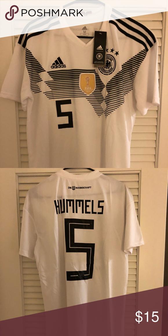 quality design 4c568 10935 Mats Hummels #5 Germany Jersey Adidas Mats Hummels #5 ...
