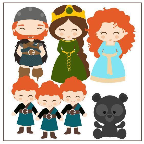 Imprimibles Valiente Brave Disney Disney Brave Disney Clipart Disney Art