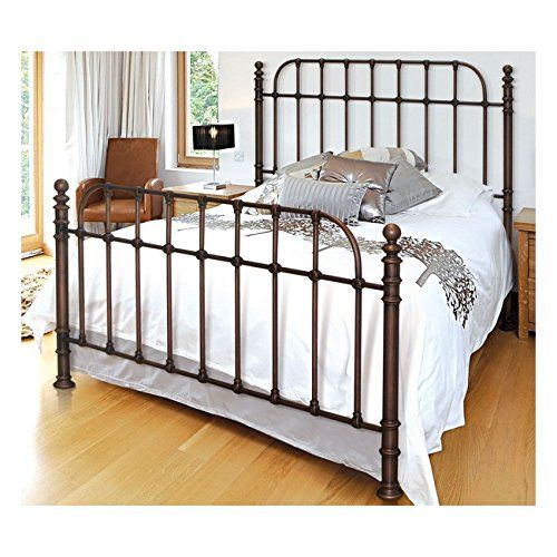Bello B565kdc Metal Bed Frame King Dark Copper See This Great Product This Is An Affiliate Lin Queen Size Metal Bed Frame Queen Size Bed Frames Metal Beds