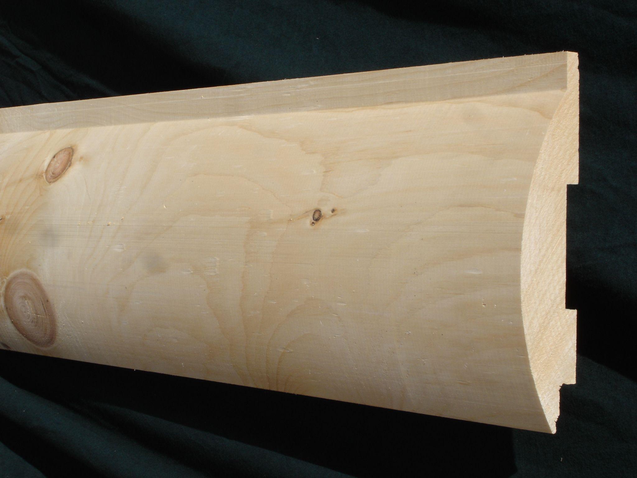 3x8 log siding hand hewn pine - 3x8 Log Siding Hand Hewn Pine 48