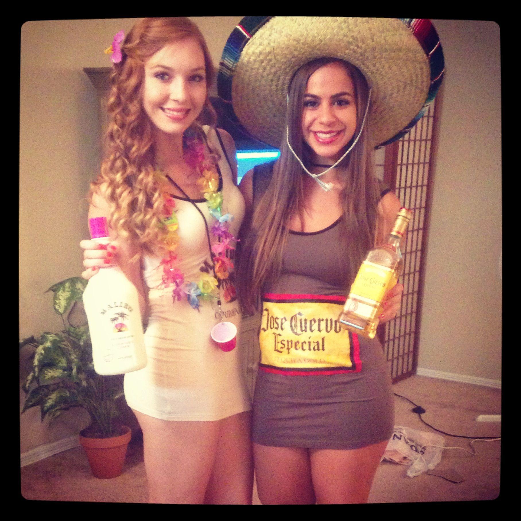 Malibu & Jose Cuervo DIY Halloween costumes | drinking | Pinterest ...