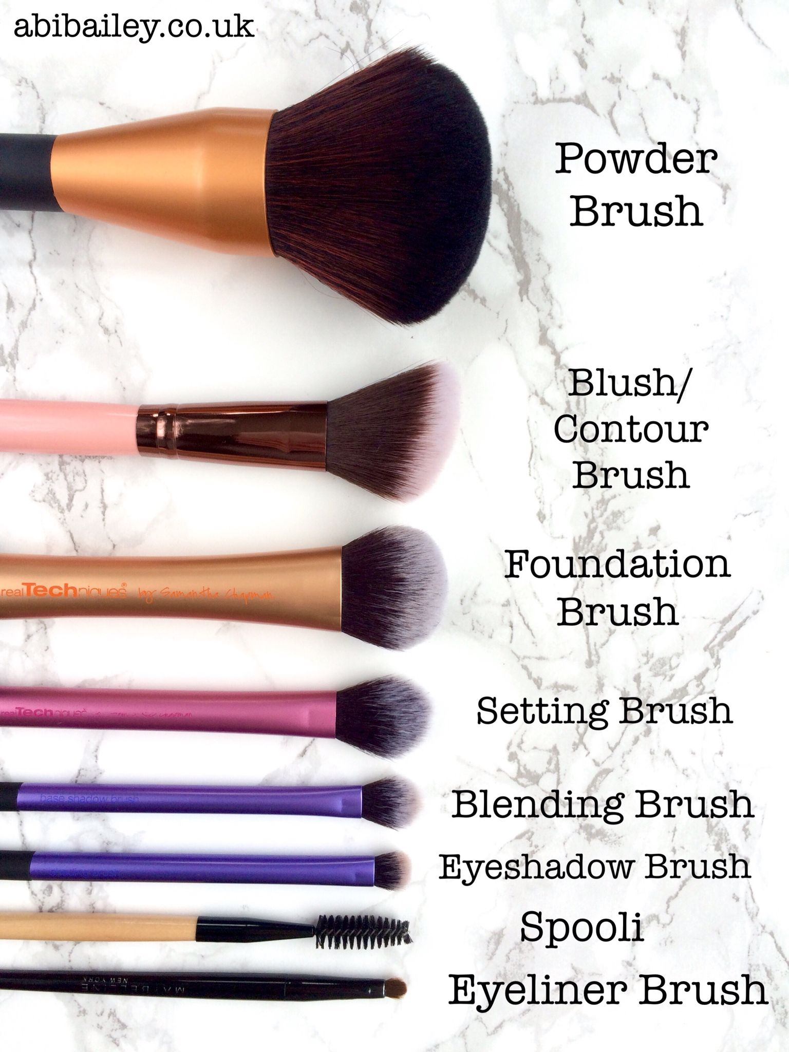 Make Up Brush Starter Kit abibailey.co.uk Makeup kit