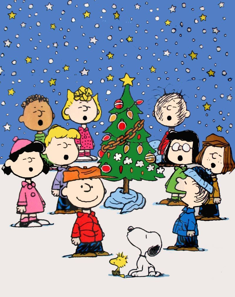 free peanuts snoopy christmas, computer desktop hd wallpapers