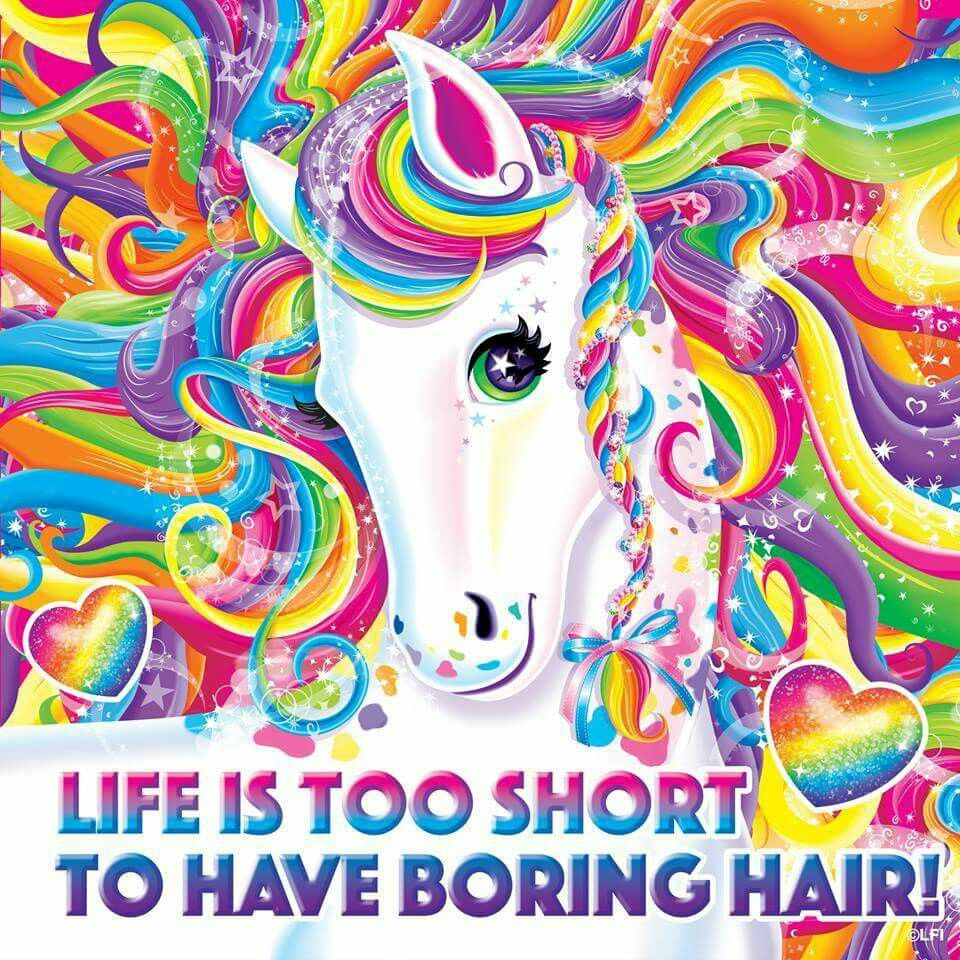 Dorable Lisa Frank Colorear Unicornio Componente - Ideas Para ...