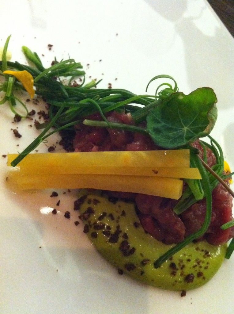 Beef Tartar - Dabbous, London