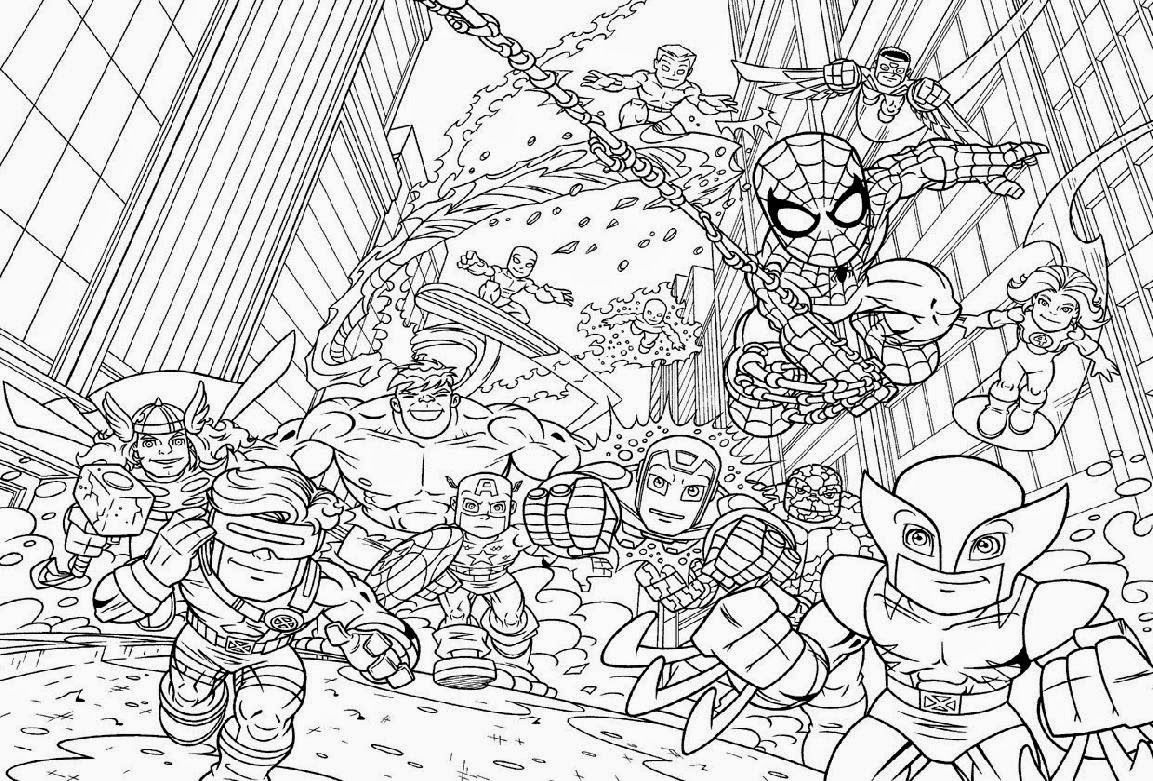 super hero squad coloring pages draw coloring pages jpg 1153 781