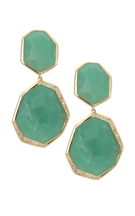 Check out this GORGEOUS green Candy Drop Earrings from Ippolita S/S 2012