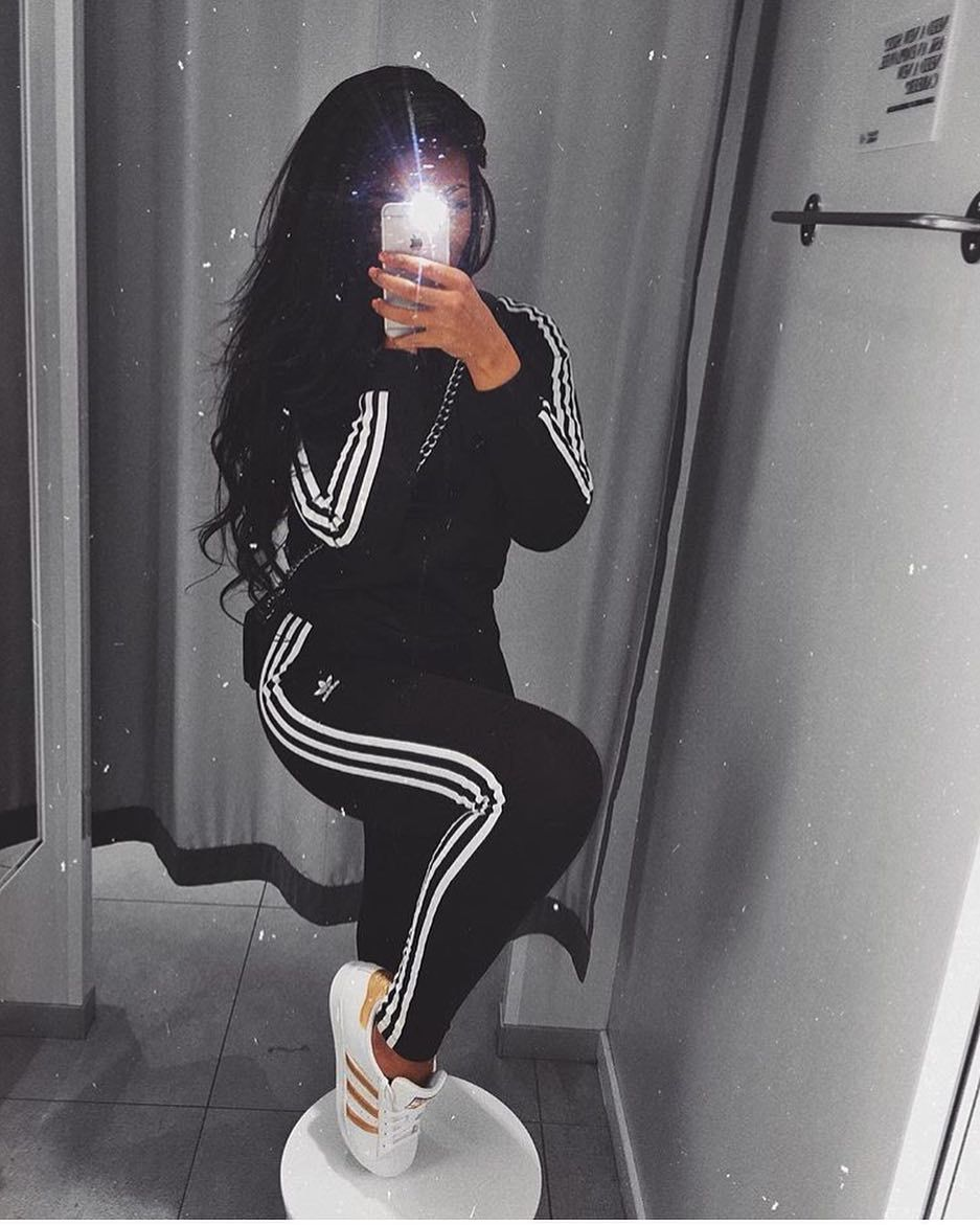 Pin by Claudiaglam on ☆ FASHION ☆ | Adidas outfit women ...