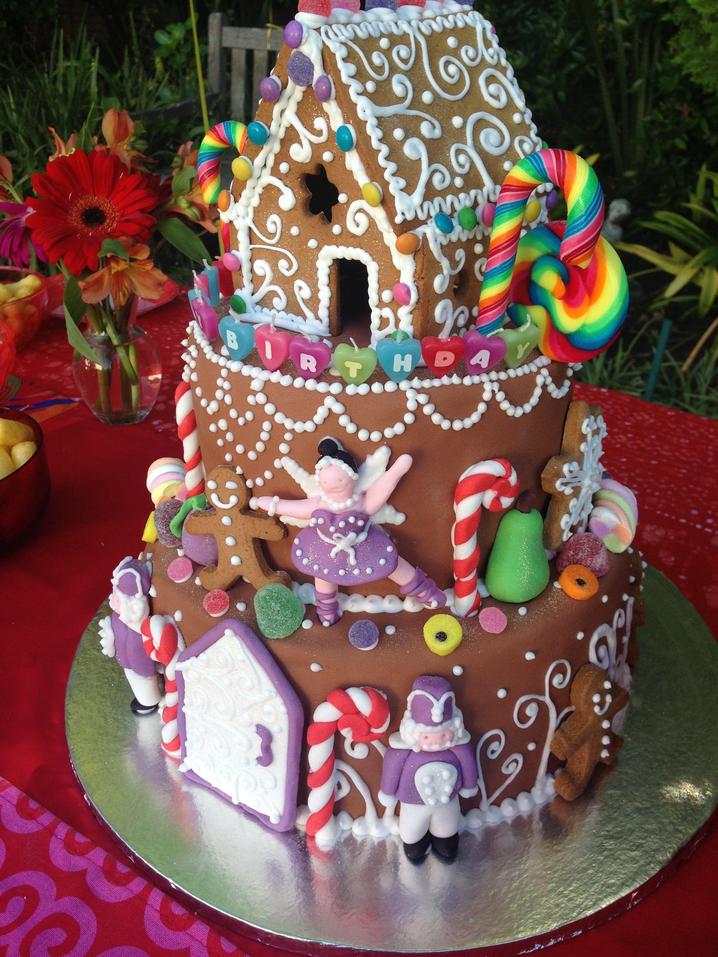 Gingerbread House Cake Dinkel Bakery Pinterest Gingerbread
