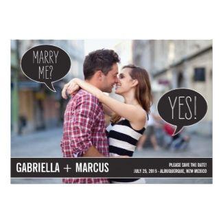 Very creative and chic wedding invitations! | Wedding Ideas