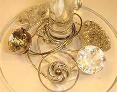 wine glass charms from vintage jewelry - Bing Images