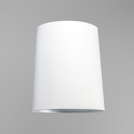 Schirm 35cm rund SU E27 weiß-silber #lampenschirm #pendelleuchtenschirm #hängeschirm #weißsilber #rabatt