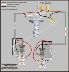 3 Way Switch Wiring Diagram Diagram Electrical wiring and Woodturning