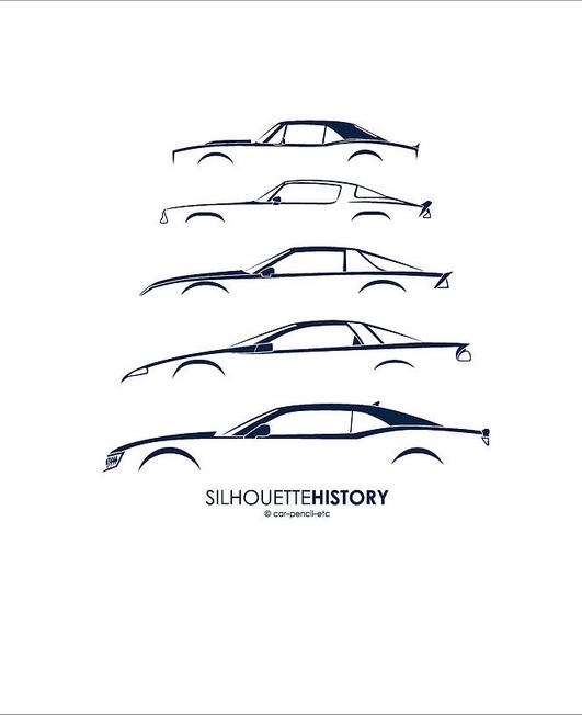 camaro silhouette history