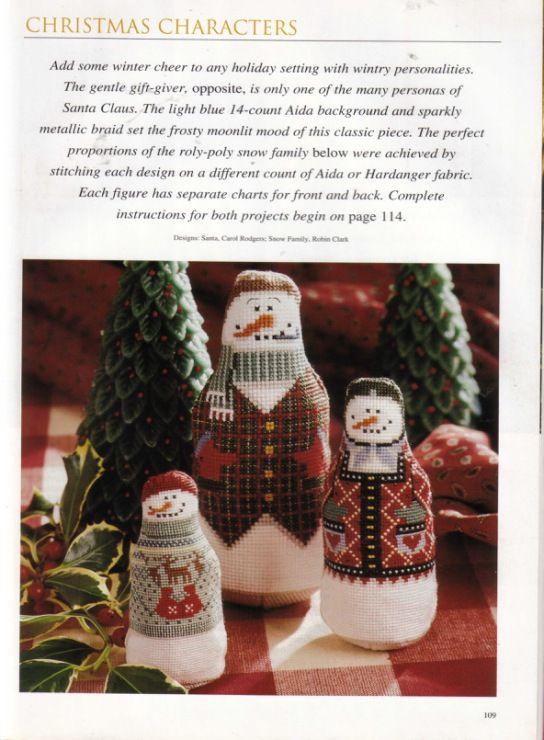 Gallery.ru / Фото #110 - A Cross-Stitch Christmas - OlgaHS