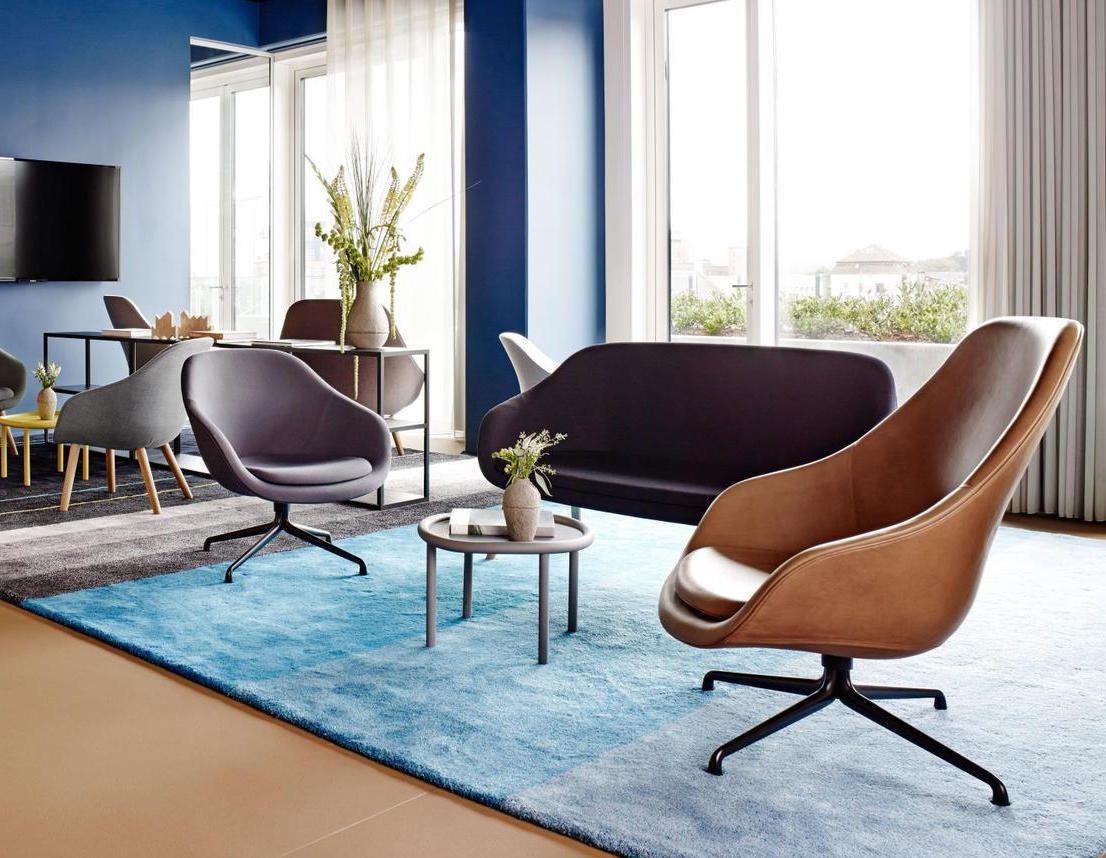 Wohnzimmer Lounge ~ About a lounge chair leather hay google suche wohnzimmer