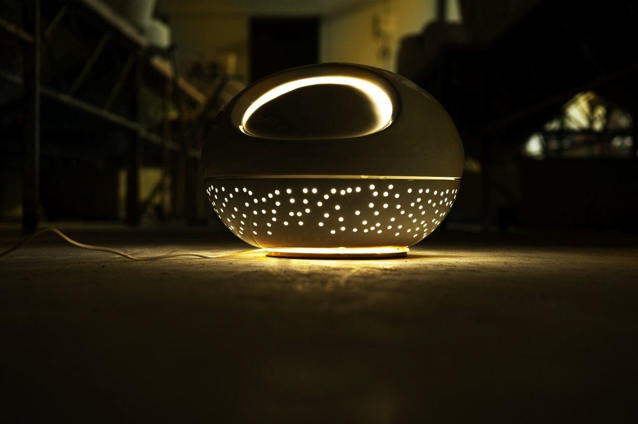 Table lamp, Luna, Design Aldo Gnesotto   Lamp, Lighting