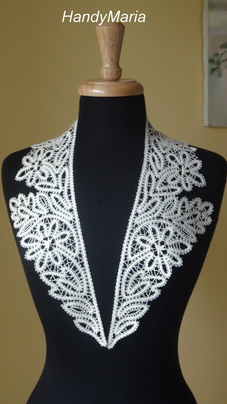CUELLO IRLANDES | crochet by \